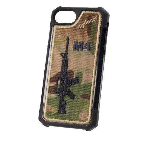 M4 - Embroidered Bumper Case - iPhone 6 / 7 / 8