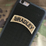 BRADLEY Tab Patch - Fabric Locking Module - Subdue OCP - myHonor Case tactical assault morale gear warrior america freedom milspec army navy marines air force coast guard USA usmc uscg usaf veteran service infantry combat phone case fabric patch camo multicam marpat nwu abu grunt seaman airman leatherneck