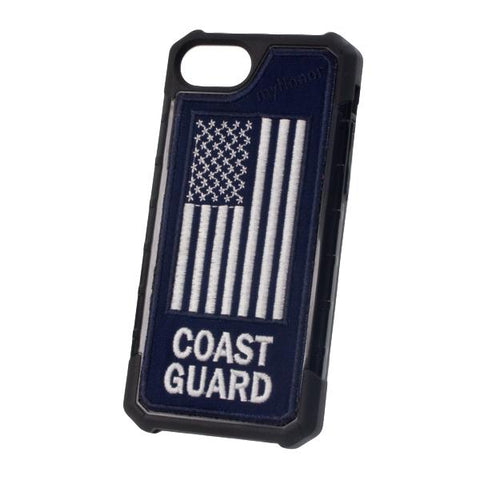 COAST GUARD - Embroidered Bumper Case - iPhone 6 / 7 / 8 - BLUE