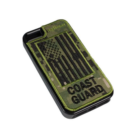 COAST GUARD - Fabric Cover - iPhone 5 - Locking Module - NWU3