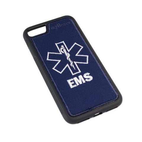 EMS - Fabric Case - iPhone 7 - BLUE