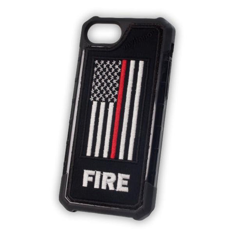 Thin Red Line Flag - FIRE - Embroidered Bumper Case - iPhone 6 / 7 / 8