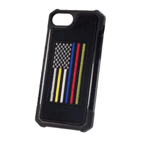 HERO FLAG - Embroidered Bumper Case - iPhone 6 / 7 / 8