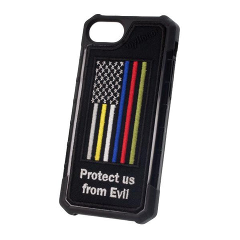HERO FLAG Protect Us - Embroidered Bumper Case - iPhone 6 / 7 / 8