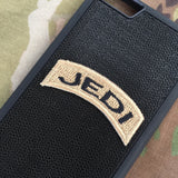 jedi army tab patch velcro phone case