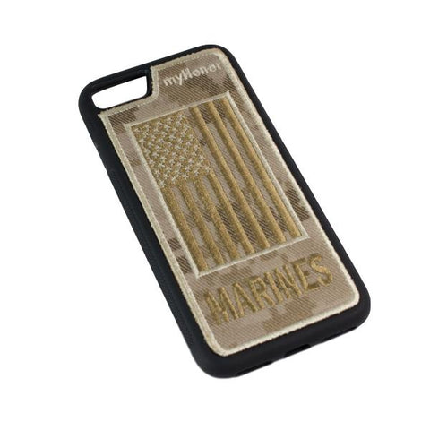 MARINES - Fabric Case - iPhone 7 - Desert MARPAT