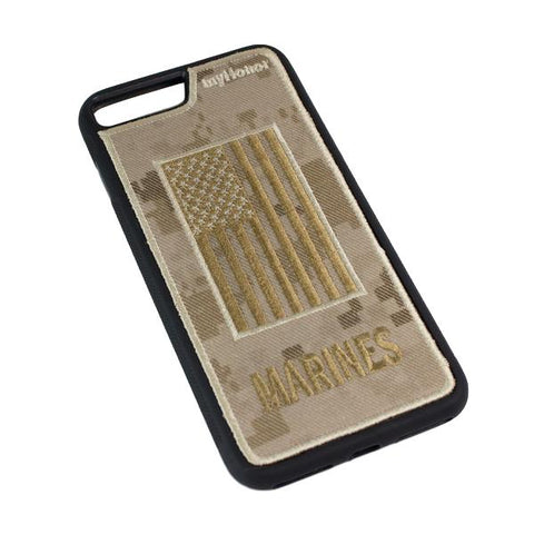MARINES - Fabric Case - iPhone 7 Plus - Desert MARPAT
