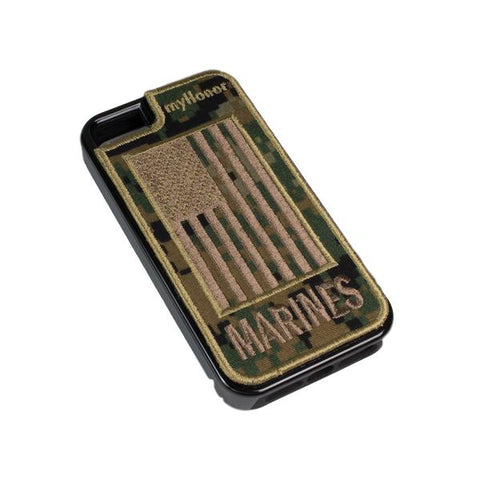 MARINES - Fabric Cover - iPhone 5 - Locking Module - MARPAT