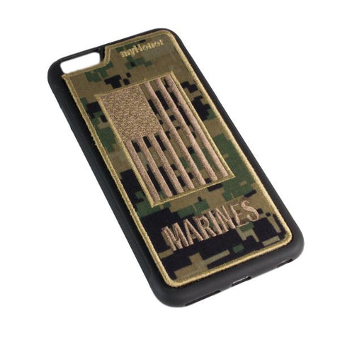 MARINES - Fabric Cover - iPhone 6 Plus - Locking Module - MARPAT