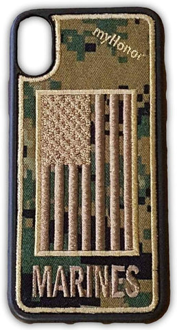 MARINES - Fabric Case - iPhone X - MARPAT