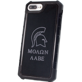 myHonor Case, iPhone 6+ and 7+, Black, Molon Labe, Come and Take it, 2A, 2nd Amendment, patriot, prepper, warrior, constitution, spartan, gun rights, america, freedom, military, usa, potus,