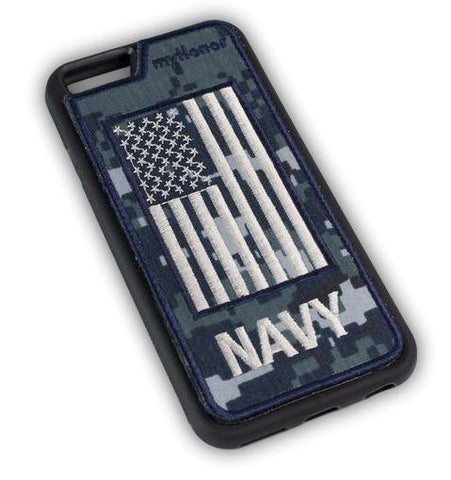 NAVY - Fabric Cover - iPhone 6 - Locking Module - NWU1