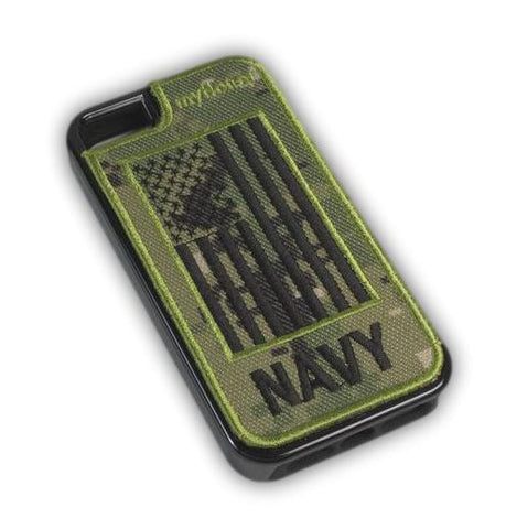 NAVY - Fabric Cover - iPhone 5 - Locking Module - NWU3
