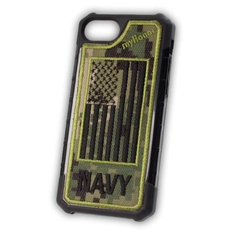 NAVY - Embroidered Bumper Case - iPhone 6 / 7 / 8 - NWU3