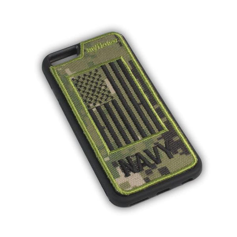 NAVY - Fabric Cover - iPhone 6 - Locking Module - NWU3