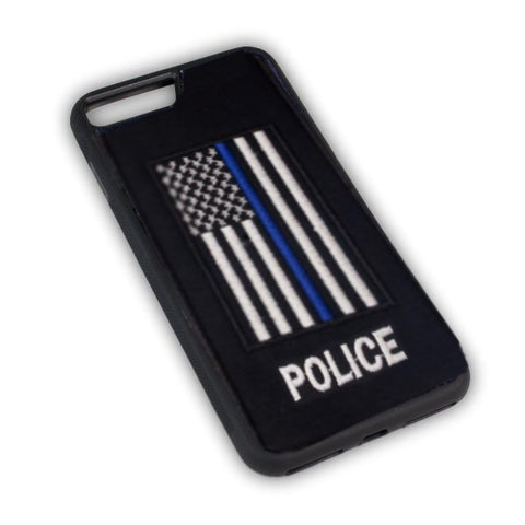 POLICE - Fabric Case - iPhone 7 - BLACK