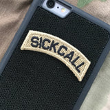 sick call tab patch phone case
