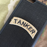 TANKER Tab Patch - Fabric Locking Module - Subdue OCP - myHonor Case tactical assault morale gear warrior america freedom milspec army navy marines air force coast guard USA usmc uscg usaf veteran service infantry combat phone case fabric patch camo multicam marpat nwu abu grunt seaman airman leatherneck