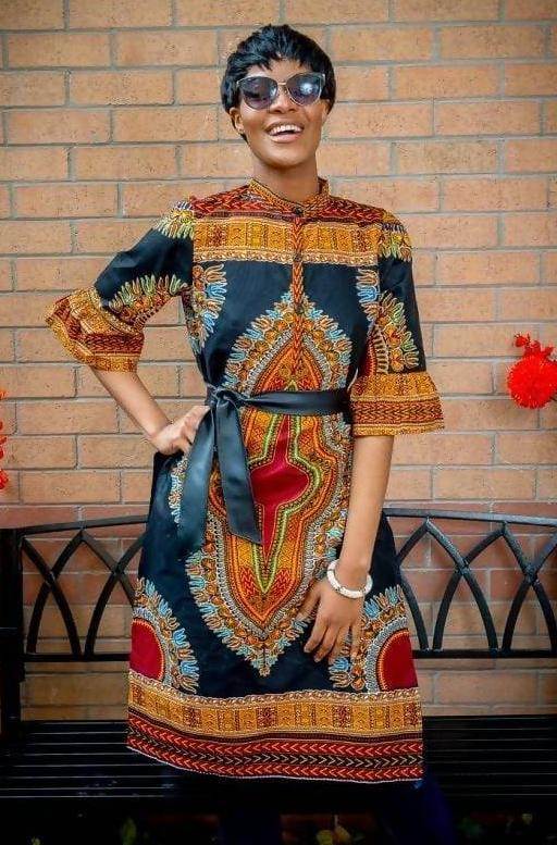Dashiki Long Shirt - Zuvaa