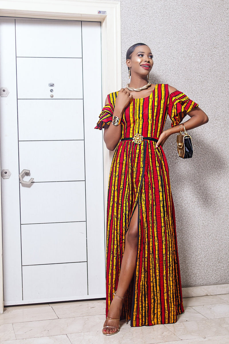 KEGO MAXI DRESS - Zuvaa