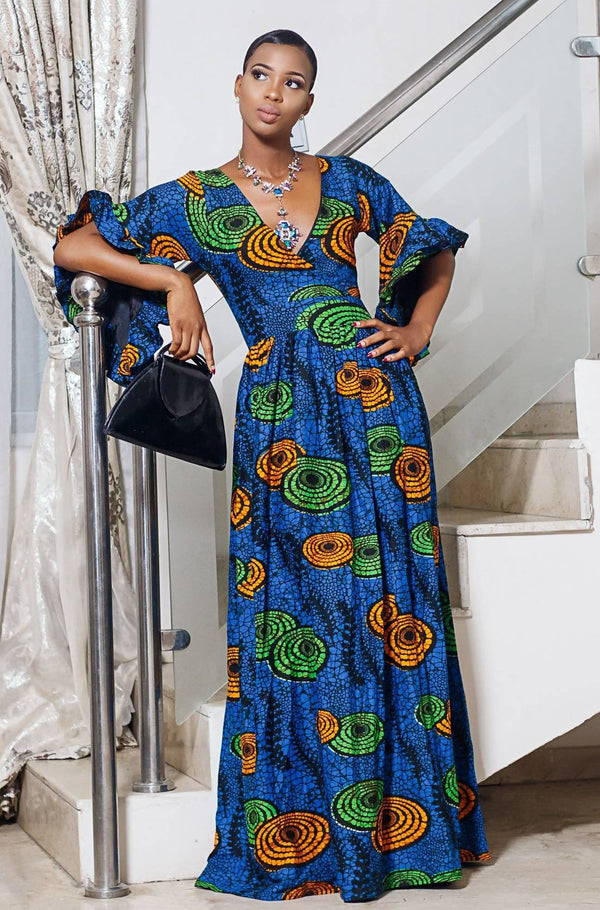 Kemzi Maxi Dress - Zuvaa