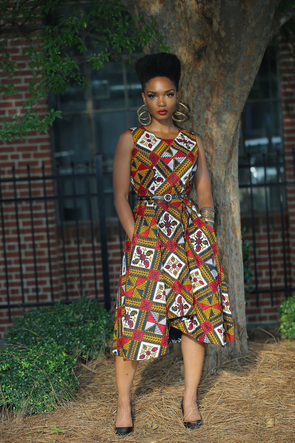 LOLADE DRESS - Zuvaa