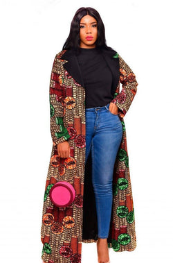 RALI LONG JACKET - Zuvaa