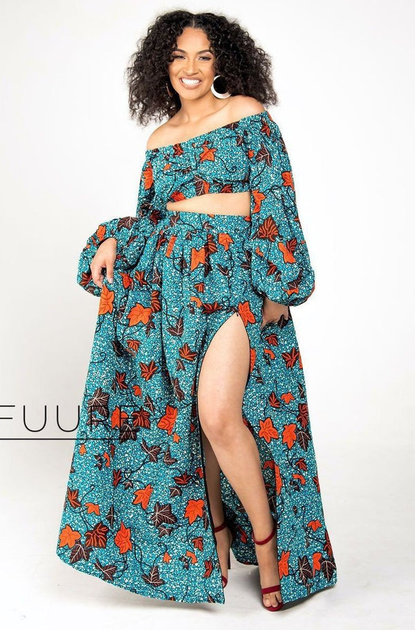 Copy of RONKE Maxi Dress - Zuvaa