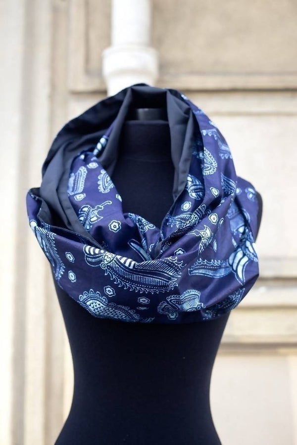 "Snood ""Always Blue"" - Zuvaa"