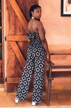 Katchana backless jumpsuit - Zuvaa
