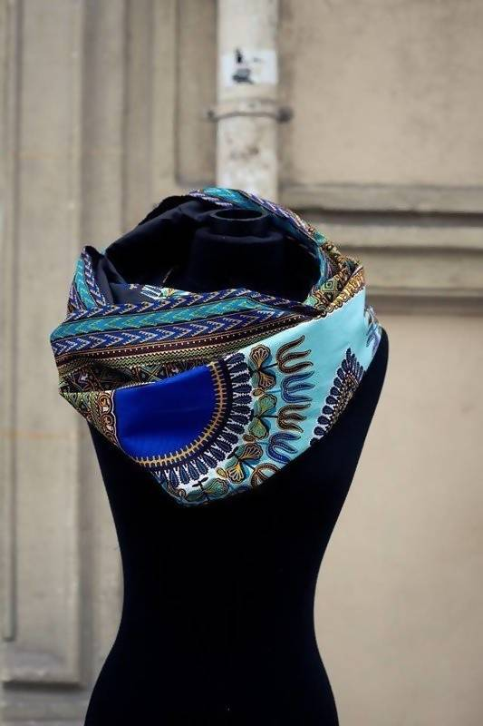 Angelina Dashiki Snood - Zuvaa