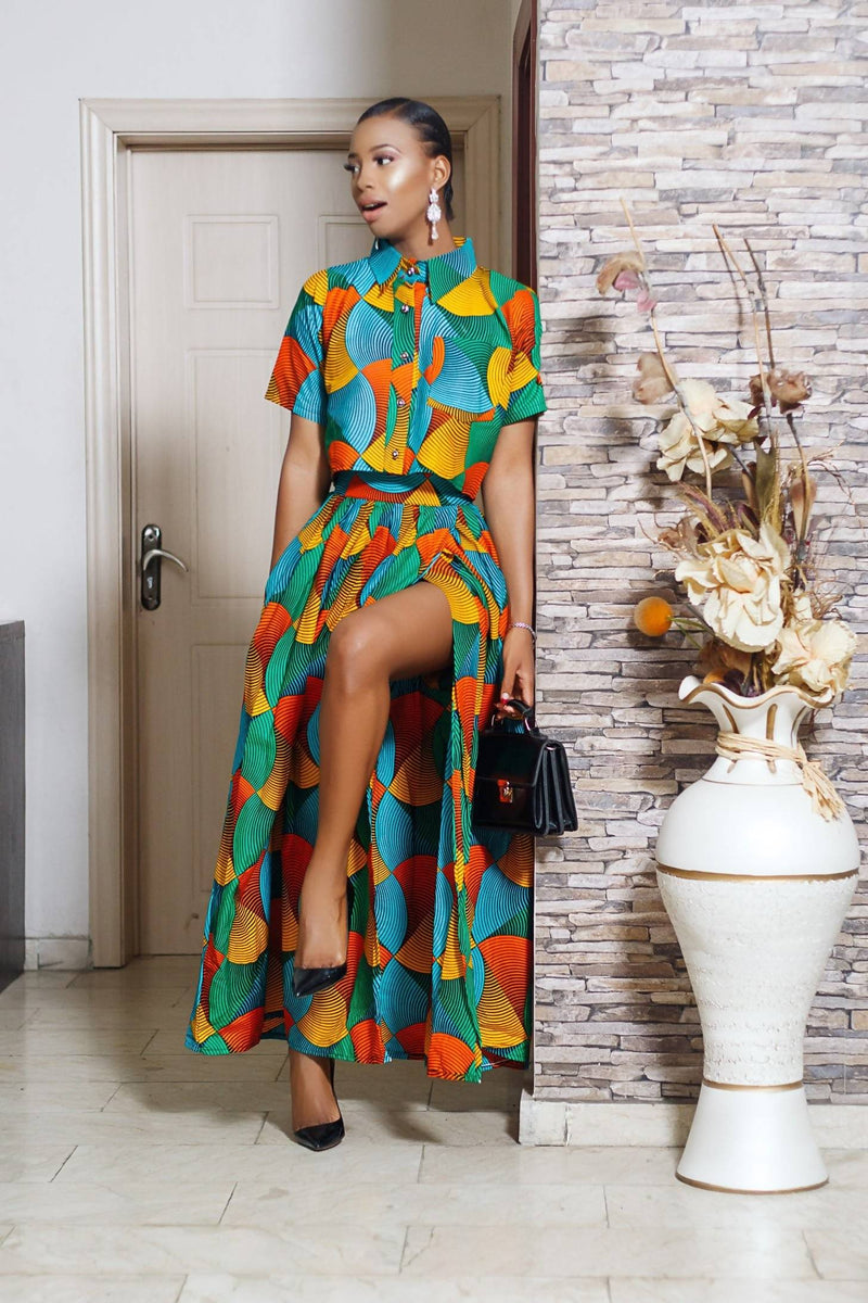 Omoye 2 Piece Set - Zuvaa