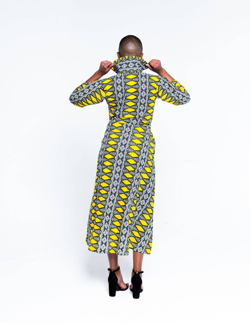 The Kili Shirt Dress - Zuvaa