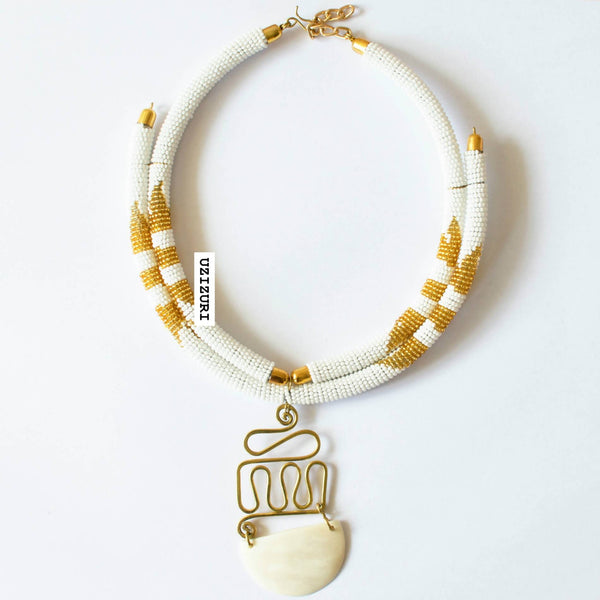 MUMBI PENDANT NECKLACE - Zuvaa