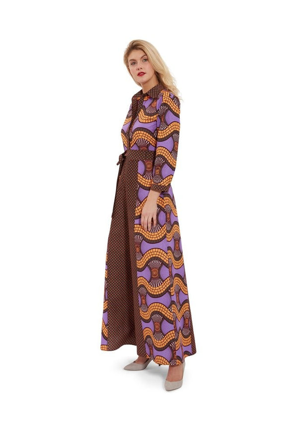 FULL LENGTH SHIRT DRESS - Zuvaa