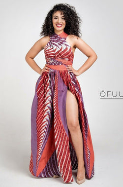 Olayinka Wrap Maxi Infinity dress - Zuvaa