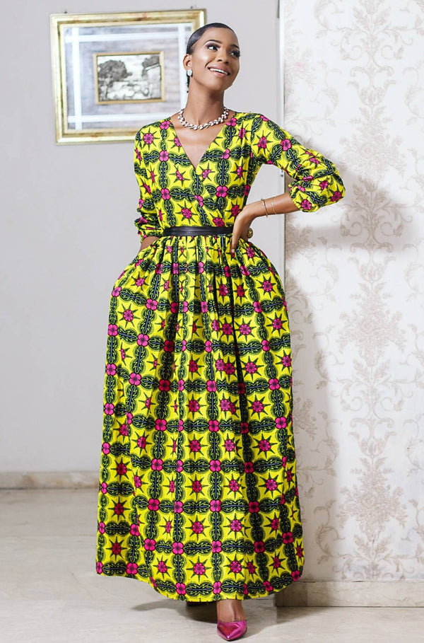 Biodun Maxi dress - Zuvaa