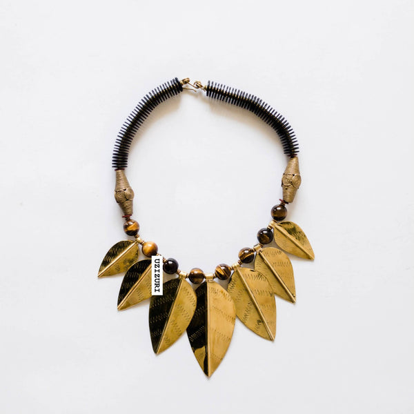 HANIFA STATEMENT NECKLACE - Zuvaa