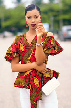 MORE WRAP TOP - Zuvaa