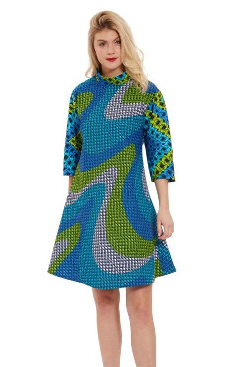 TUNIC FLARE DRESS - Zuvaa