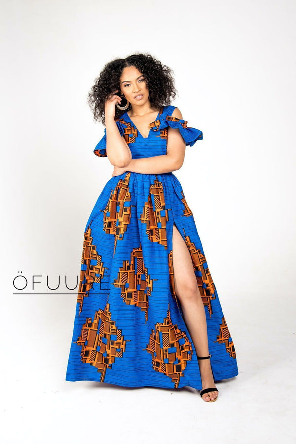 OMON Maxi Dress - Zuvaa