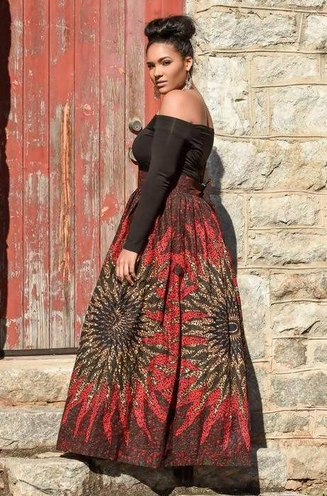 THE 'RISING STAR' MAXI SKIRT - Zuvaa
