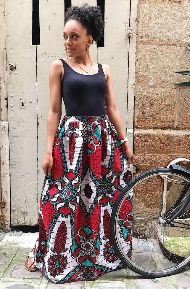 Kaley long skirt - Zuvaa
