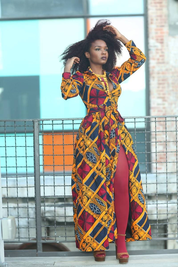 Uzoma maxi dress - Zuvaa
