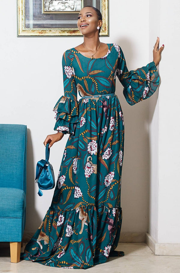 Lui Maxi Dress - Zuvaa