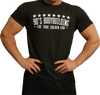 90's Bodybuilding Black T-Shirt (Men's) - Swole Athletics