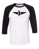 Swole Athletics Wing Logo Baseball T-shirt (Unisex) - Swole Athletics
