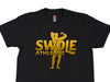 Swole Athletics Classic Physique Gold on Black T-Shirt - Swole Athletics