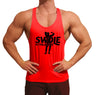Classic Swole Athletics Black on Red Stringer (Men's) - Swole Athletics