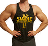 Classic Swole Athletics Gold on Black Stringer (Men's) - Swole Athletics